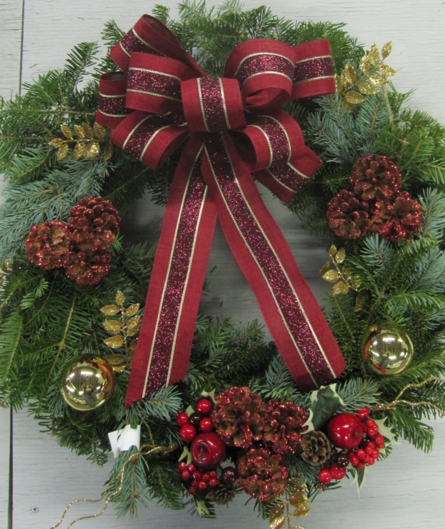 Live Christmas Wreaths Atlantic Nursery Garden Shop
